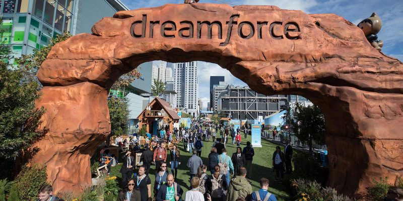 entry to Dreamforce 2018
