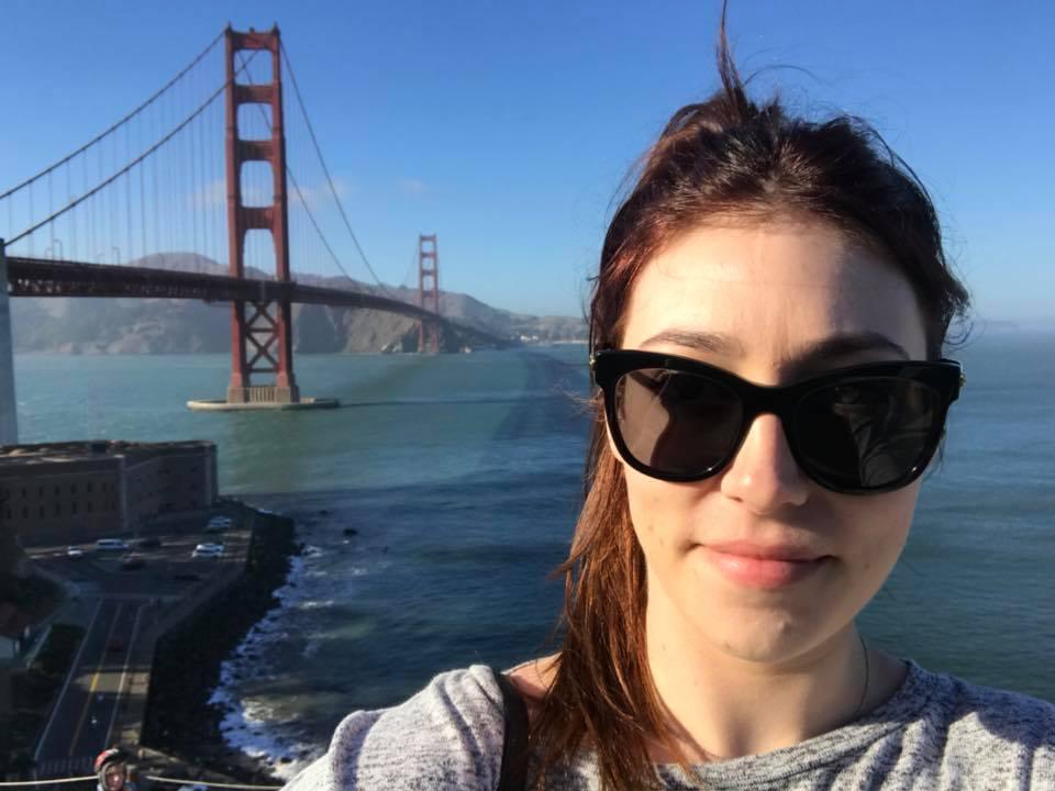 Anna Hodge at Golden Gate San Francisco
