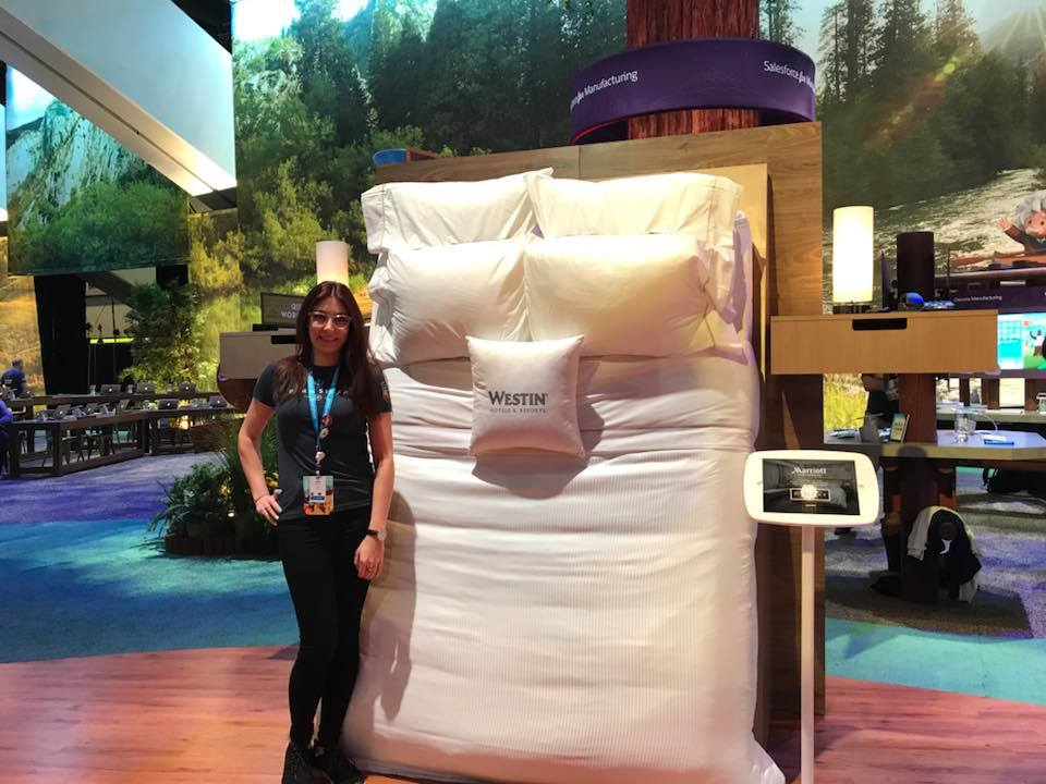 Marriott Customer Experience centre at Dreamforce 2018
