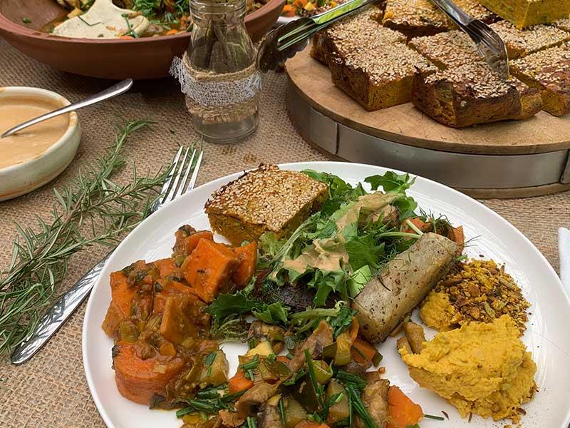 Burbury Wholefoods lunch