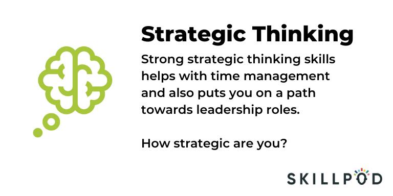 Skillpod Strategic Thinking