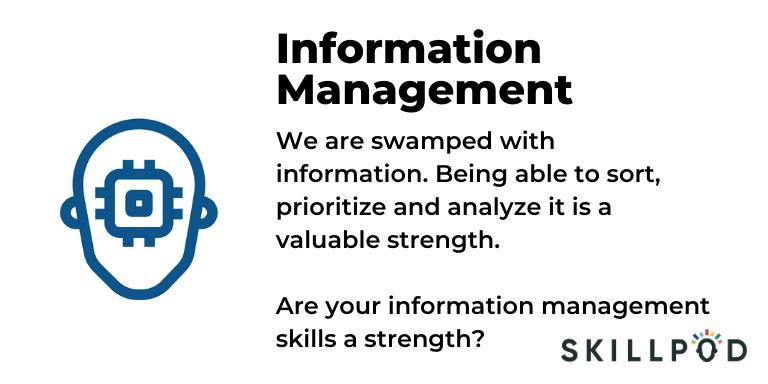 Skillpod Information Management