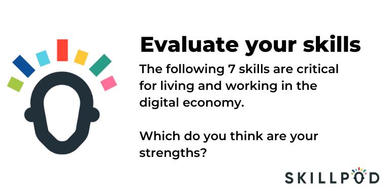 Skillpod Evaluate your Skills